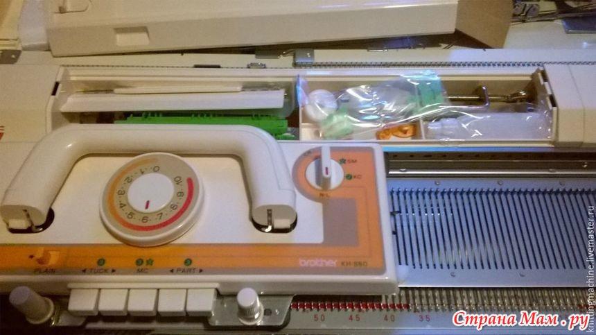 ремонт вязальной машины бразер 860 машинное вязание страна мам