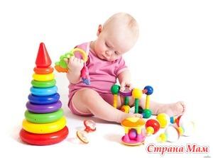 Игрушки для малышей и детей постарше