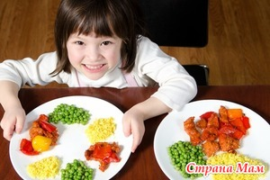 Полезная пища, как научить ребенка ее есть