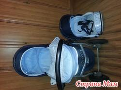 Детская коляска 2 в 1 Rudis Sibis(zippy tutis)
