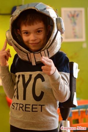 Видео МК - костюм космонавта для ребенка своими руками