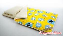 Детский постельный комплект(из овечки)
