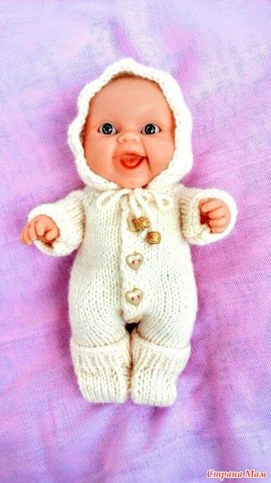 комплект для пупса 22 см гардероб для куклы страна мам
