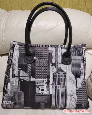 823e848384f1 Сшила сумку из плотной портьерной ткани, застёжка на молнию. Высота 30,  ширина в низу 40, в верху 35, дно 16 см