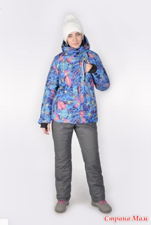 Продам женский зимний комплект. 52 размер, новый.