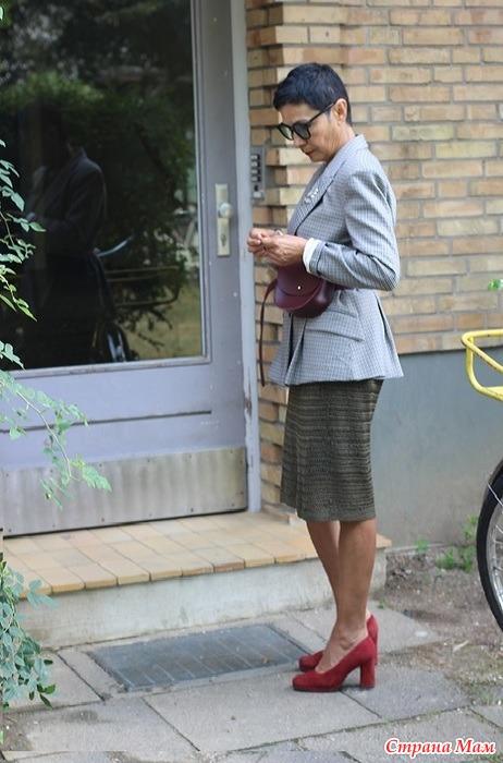 Август 2018. Платье с жакетом
