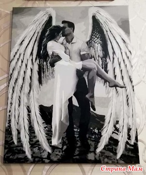 "Картина по номерам ""Мой ангел"""