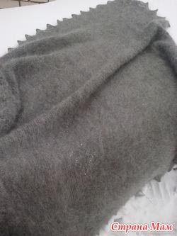Пуховый платок -плед 135смх138см