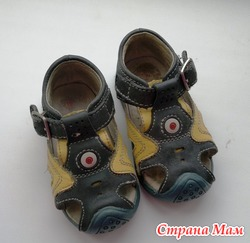 сандалики для ребенка 6-12 месяцев