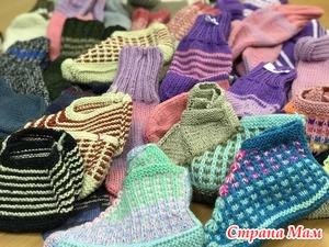 Носочки и тапочки для пациентов Хосписа