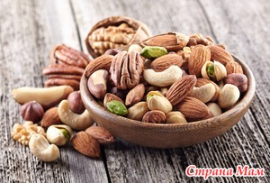 Орехи и питание детей