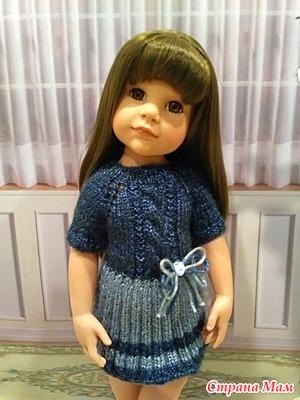 Платье на кукол Готц 50 см
