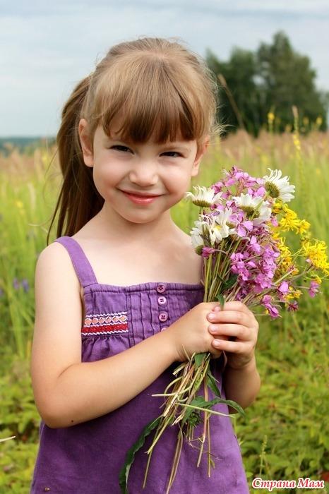 Наш самый яркий цветочек!