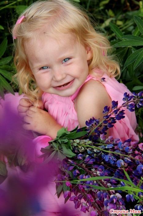 Мой цветочек маленький!!