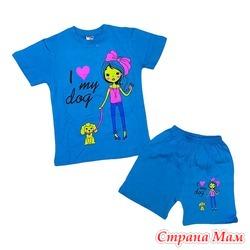 КФШ 001113 (костюм футболка+шорты)