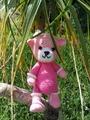 Розовая Мишелька