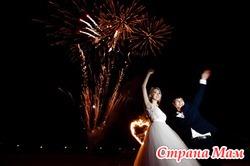 Заказать проведение салюта на свадьбу в «Пазл»