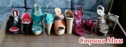 Много - обувь на каблуке