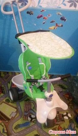 Велосипед 3х колесный smartrike