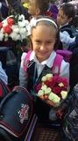 в школу и с цветами