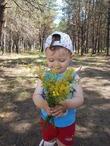 первые цветы для мамы