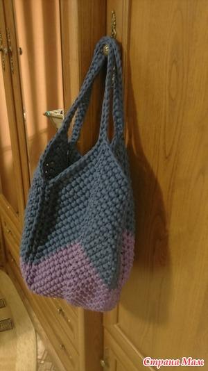 426d327ab451 Продаю сумку из трикотажной пряжи ручной работы. Цена 1200 + почтовые  расходы.