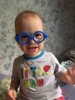 Первый раз примерил очки