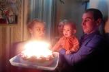 Празднуем первый день рождения Варюши.