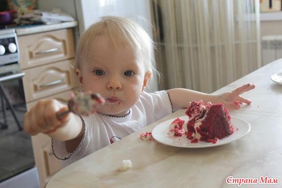 Первая дегустация торта