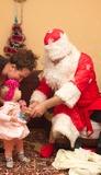 Первый подарок от Деда Мороза