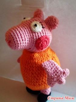 Мама свинка из мультфильма свинка Пеппа
