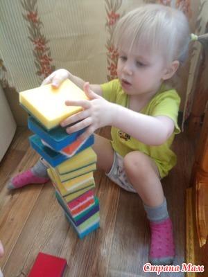 Наши игры с дочей 3. Дополнила, фото в комментариях