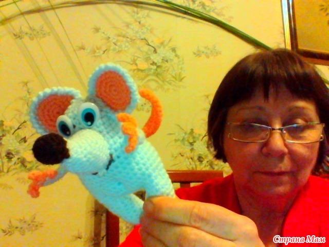 мышонок из Онлайн игрушки-зверушки