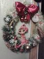 Мой Рождественский веночек с Эльфиком