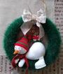 Рождественский венок от Delfi-na-talia