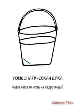 Гомеопатическая ёлка