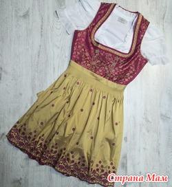 Немецкий  стилизованный костюм