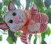 кот игрушка амигуруми крючком