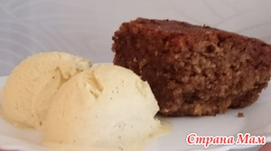 Ореховый пирог (без муки)
