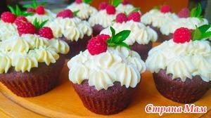 Шоколадные кексы на кефире или молоке