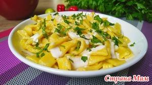 Картофельная лапша нежная и мягкая