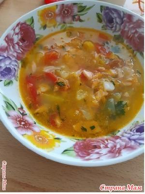 Рыбный суп.