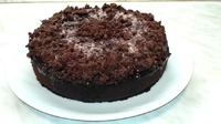 Шоколадный пирог -вкусный бисквит