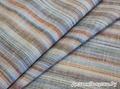 Ткань льняная сорочечная, лён 100% , цветная полоска  , 394 руб + орг 20%