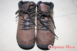 Ботинки Timberland на мальчика,33 размер