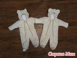 Зимние детские комбинезоны для мальчиков и девочек