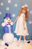 Наш снеговик, который не тает!