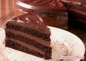 Научите, помогите, киньте рецептом шоколадного торта аля Прага...