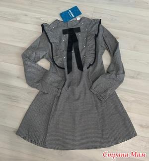 Платье школа размер 140. Россия