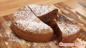 Шоколадно-ореховый торт из Неаполя
